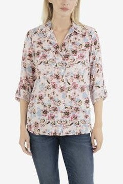 Cam Printed Tencel Blouse