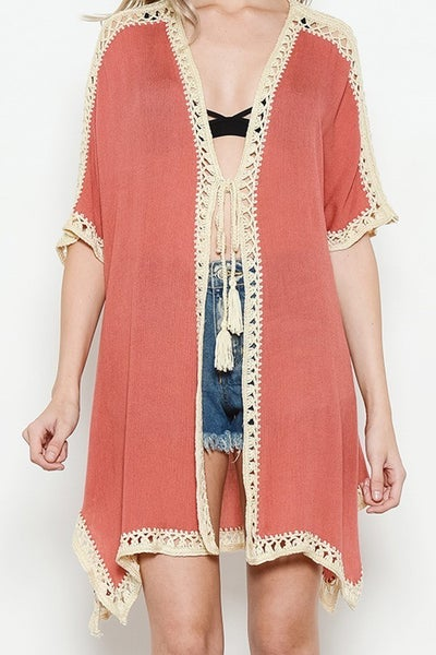 Tasseled Kimono
