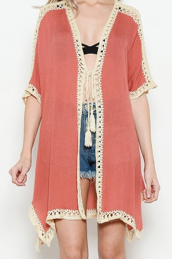 Tasseled Kimono *Final Sale*