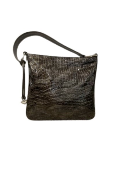 """CHER"" Bronze Patent Leather Shoulderbag"