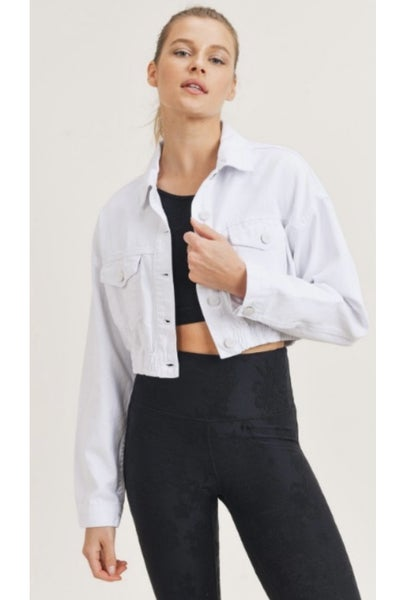 White Out Jean Jacket