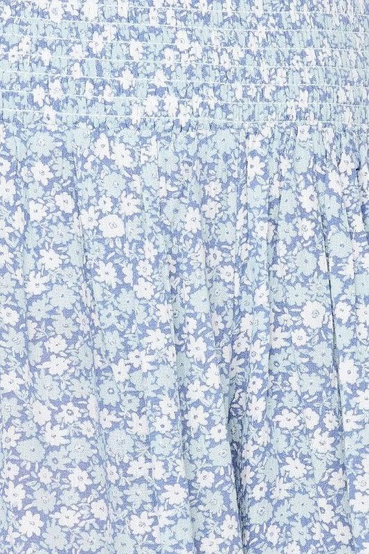 Field Of Flowers Shorts *Final Sale*