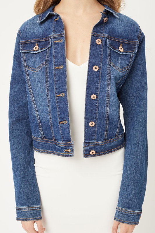 Perfect Cut Jean Jacket