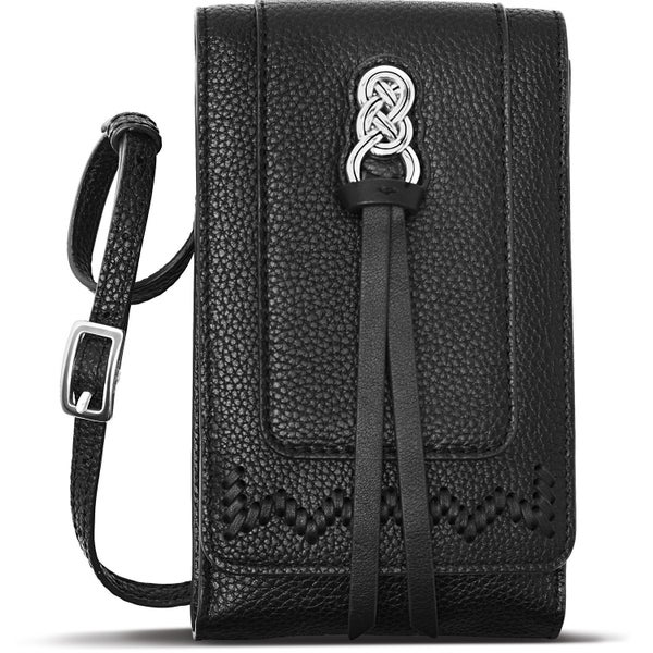 Interlok Phone Organizer Crossbody (Black)