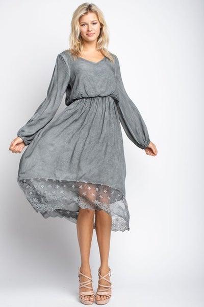 Open Sleeve Dress *Final Sale*