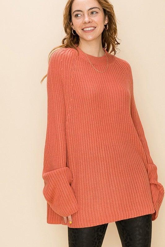Crew Neck Sweater *Final Sale*