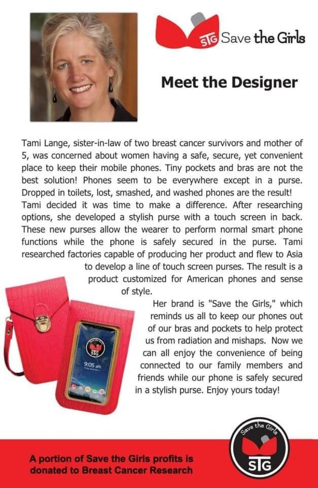 Captiva Touchscreen Phone Purse