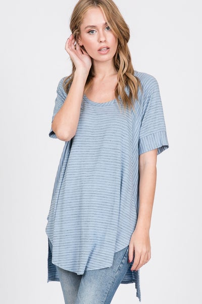 Spaced Out Short Sleeve Top