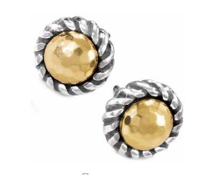 Gold Magic Mini Post Earrings
