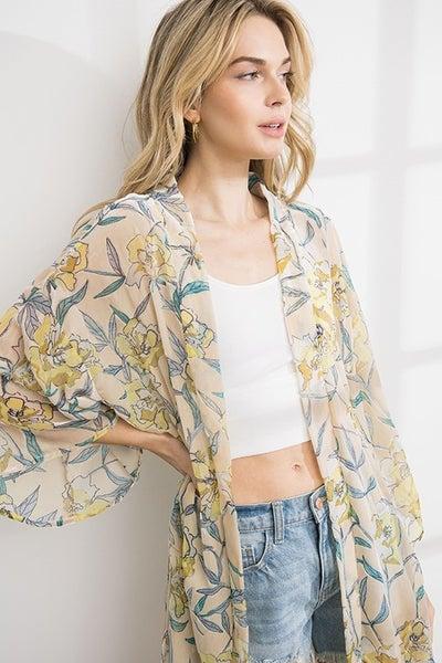 Island Girl Kimono