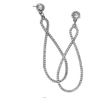 Illumina Loop Post Drop Earrings