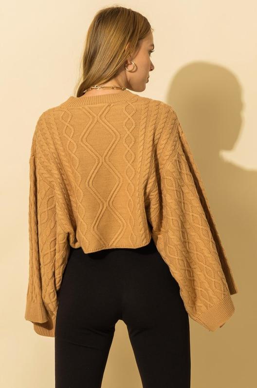 The Kimono Sweater