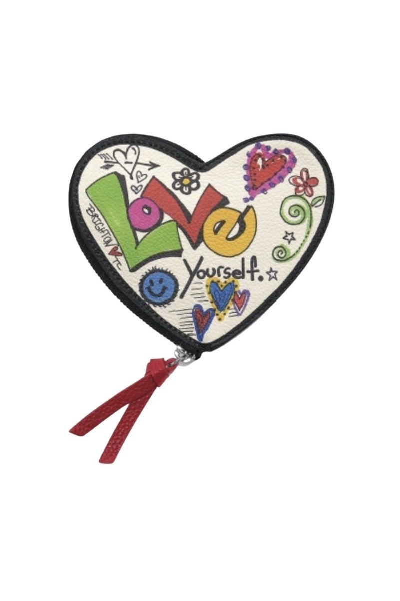 Love Scribble Heart Coin Purse