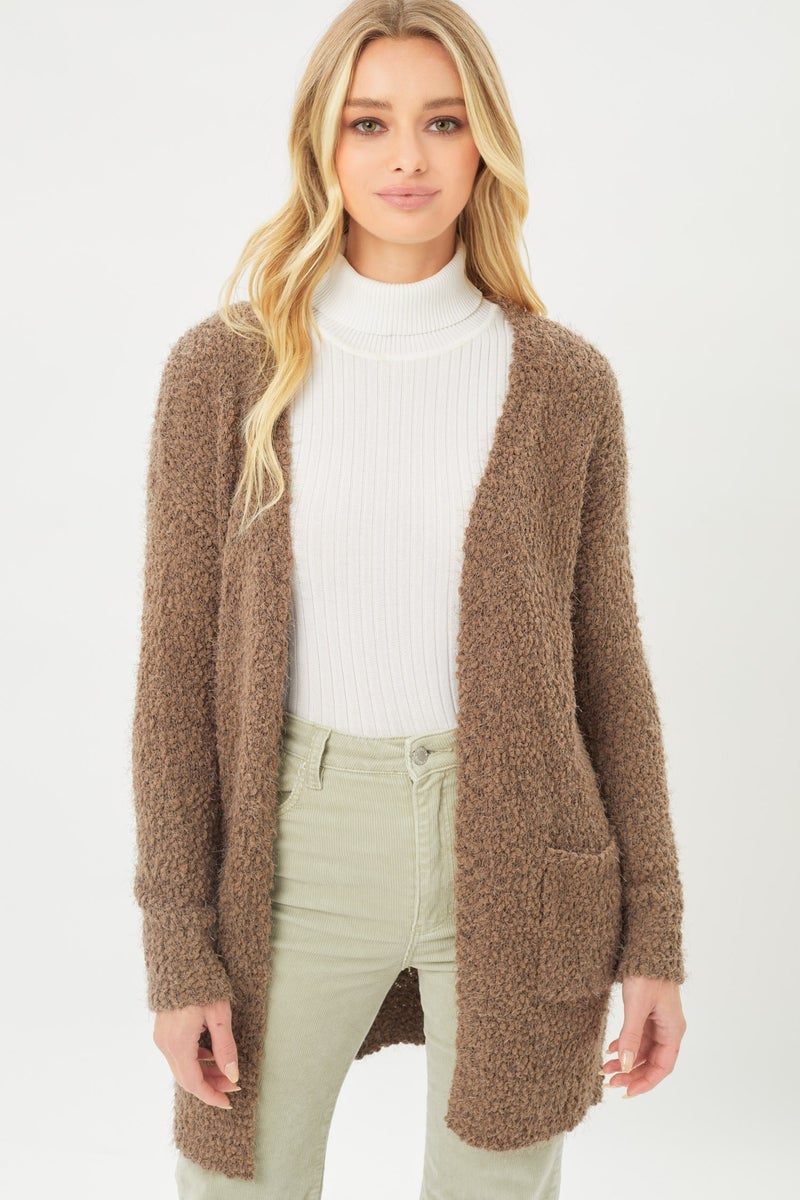 Get A Clue Cardigan (Color Options Available)