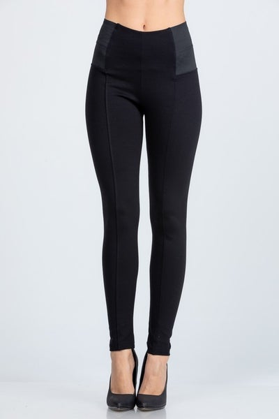Nylon Ponte Leggings *Final Sale*