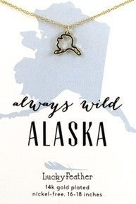 Alaska State Necklace