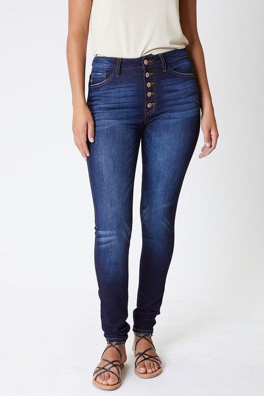 Curvy Denim (Dark Wash) Jeans