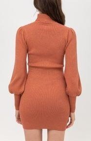 Stunning Terra Cotta Dress *Final Sale*