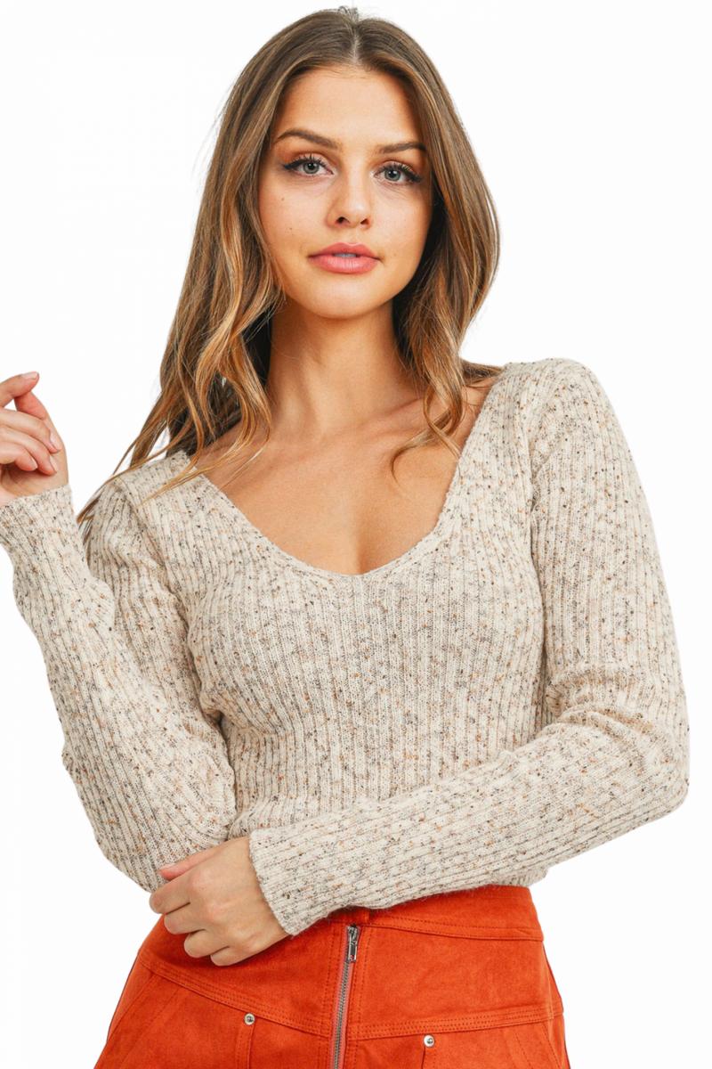 Criss Cross Applesauce Sweater