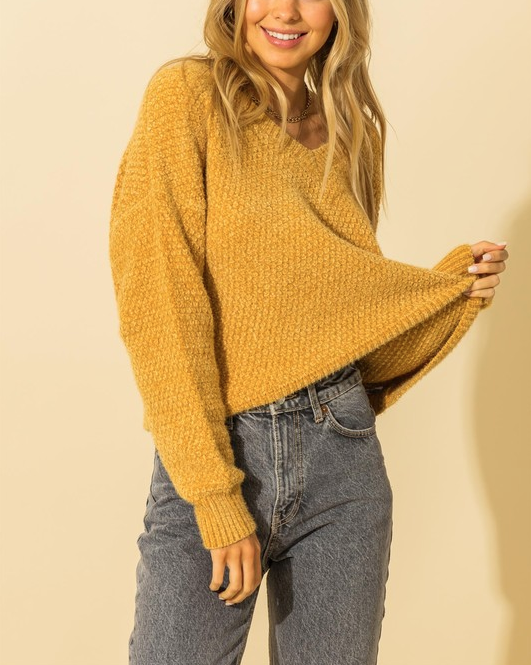 Mellow In Yellow Sweater