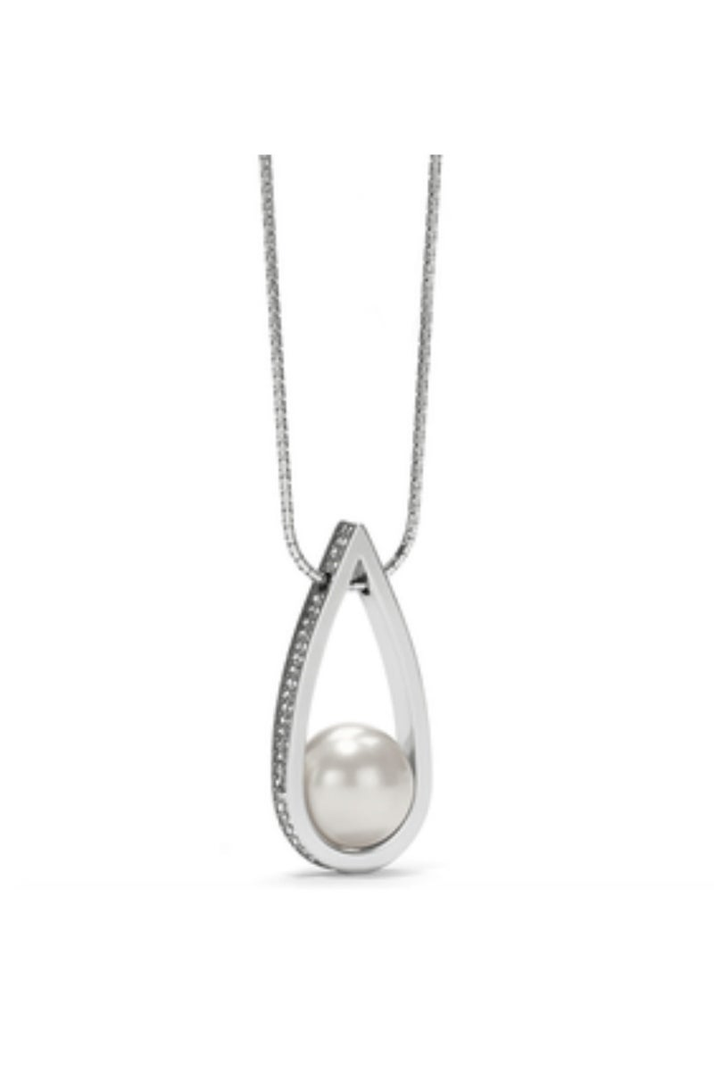 Chara Ellipse Spin Long Necklace