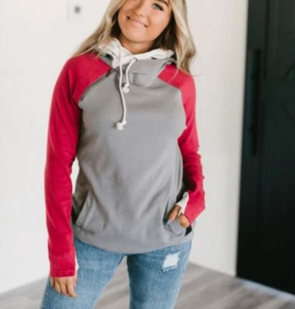 DoubleHood Sweatshirts (Color Options) *Final Sale*