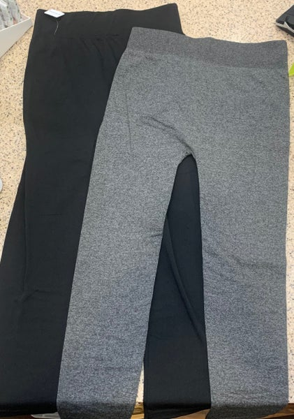 Fleece Lined Leggings - Plus Size (Color Options) *Final Sale*