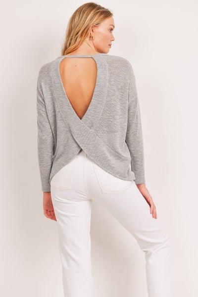 Peek-A-Boo Sweater Top