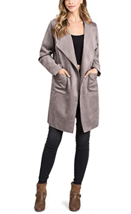 Holloway Faux Suede Jacket