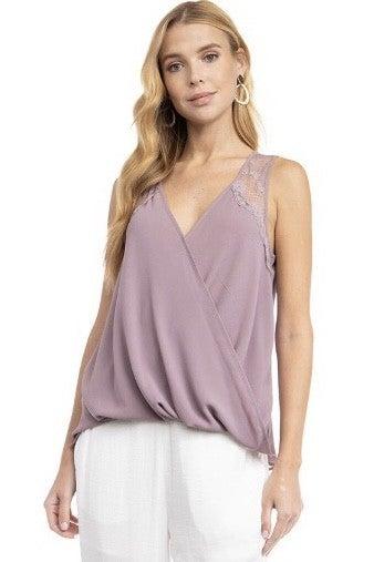 Lovely in Lavender Top