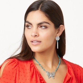 Marrakesh Oasis Butterfly Necklace