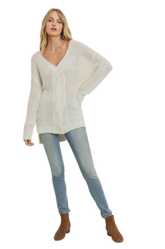 Braidy Bunch Sweater *Final Sale*