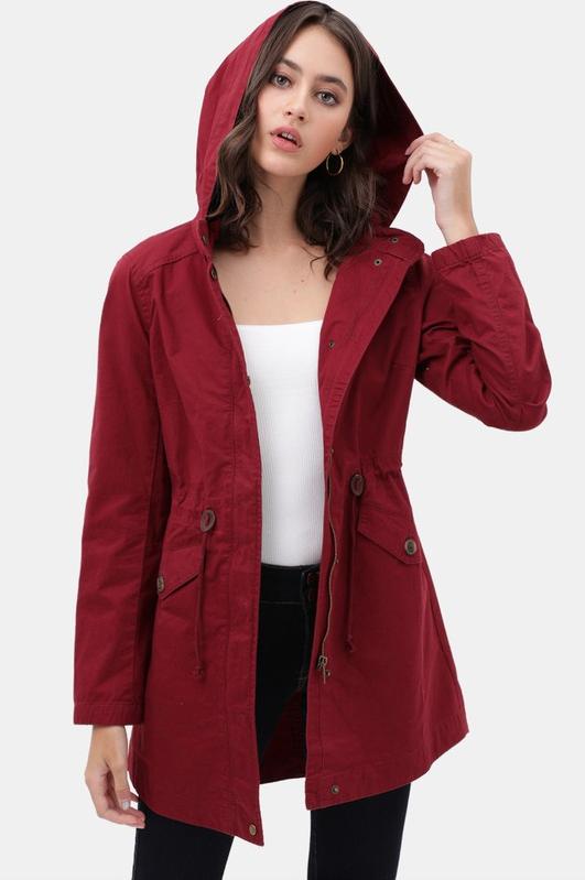 Utility Anorak Coat