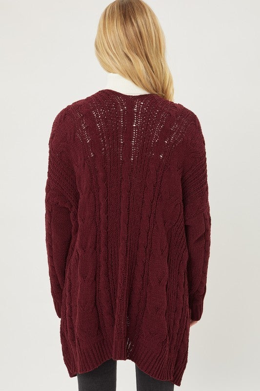 Cable Girl Sweater