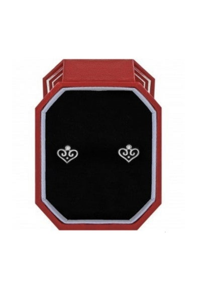 Alcazar Heart Mini Post Earrings Gift Box