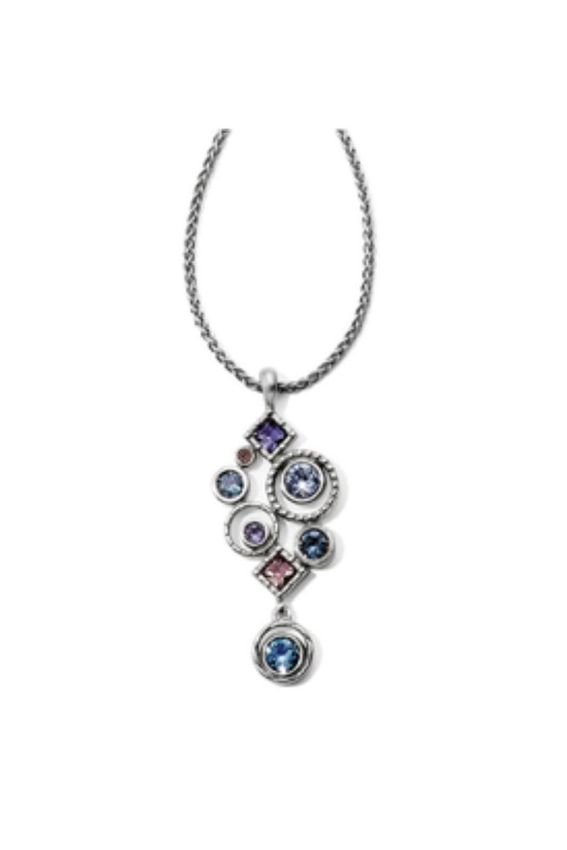 Halo Aurora Drop Necklace