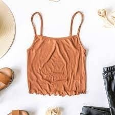 Old Faithful Cropped Tank Top (Color Options Available)