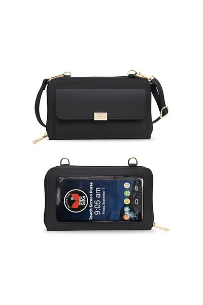 Captiva Touchscreen Phone Purse -Black