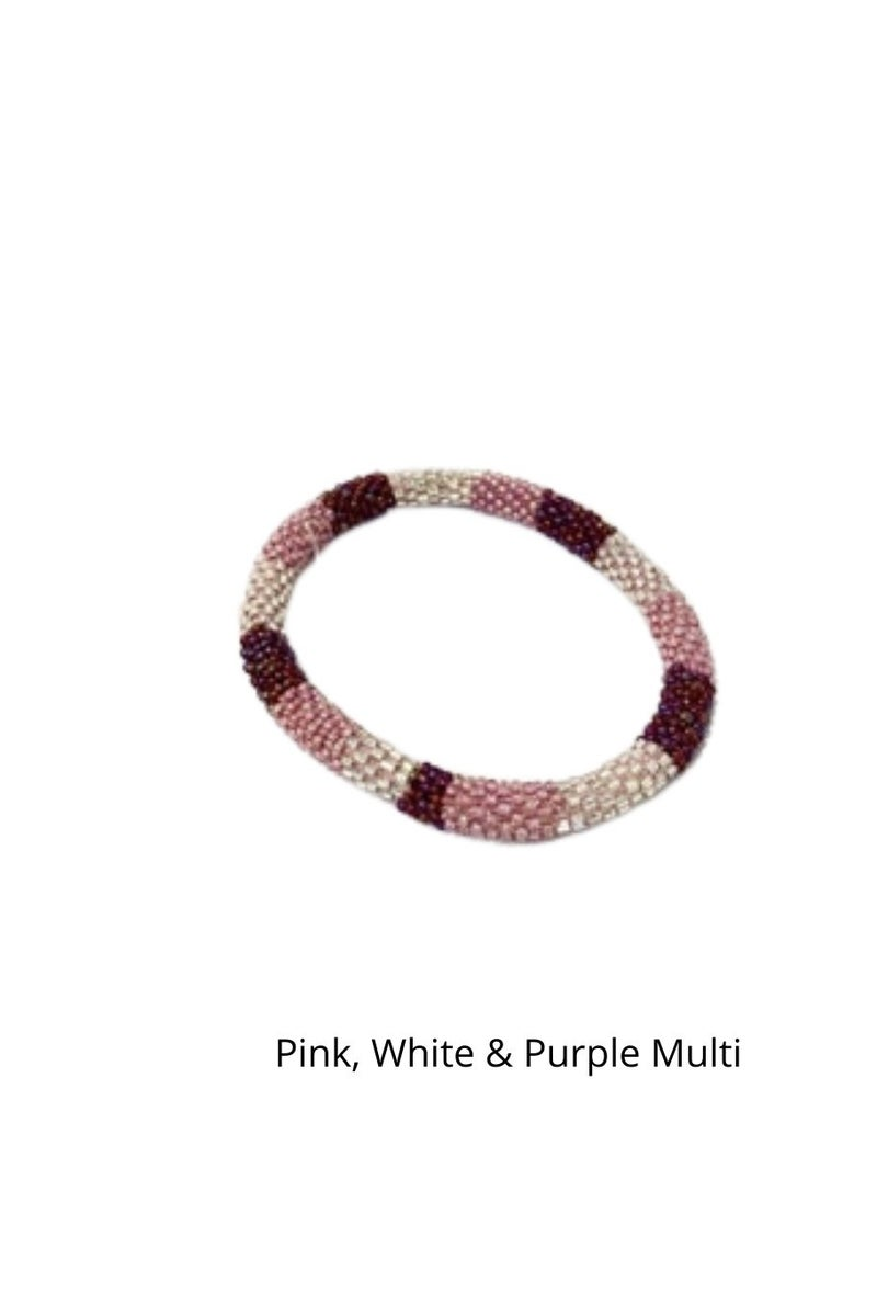 3 Strands Nepal Mission Bracelets (Color Options Available)