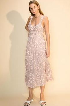 Poke-a-Dot Tie Dress