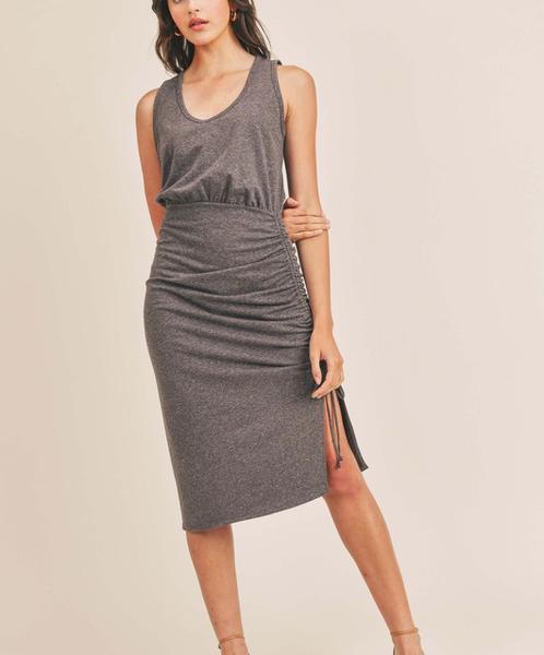Ruched Minimax Dress