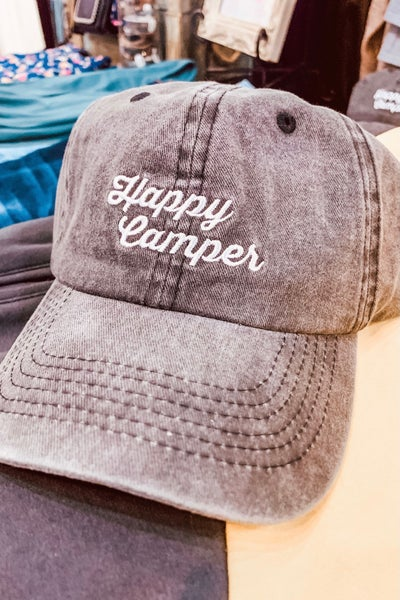 Happy Camper Camp Cap