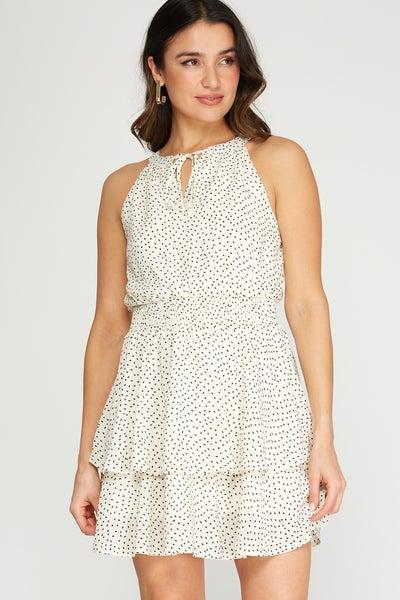 Feeling Fancy Halter Dress