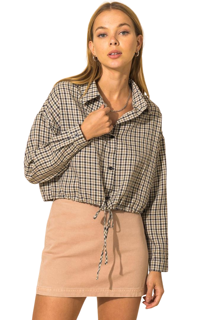 All Business Cropped Jacket