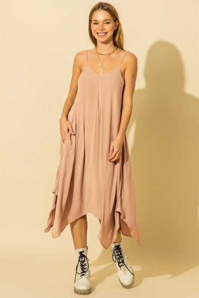 I Don't Wanna Mauve Dress