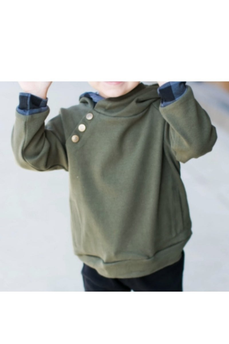 Toddler DoubleHooded Sweatshirts (Color Options) *Final Sale*