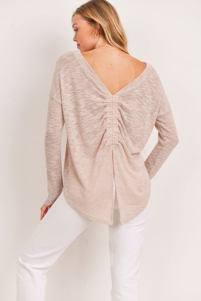 Open Call Sweater Top