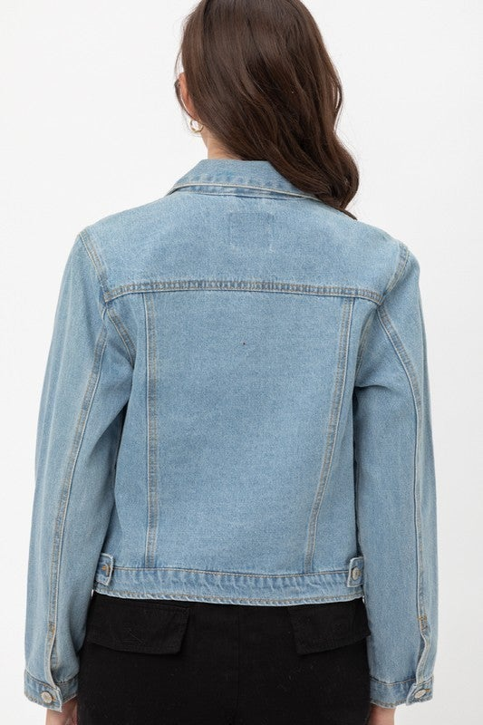 Take Me Home Jean Jacket *Final Sale*
