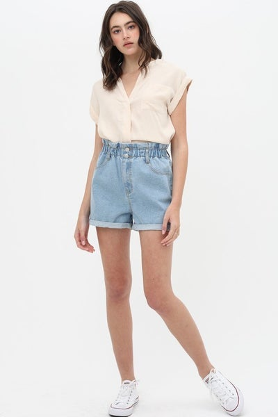 The Cool Mom Denim Shorts