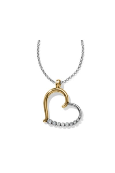 Sparkle Heart Convertible Necklace
